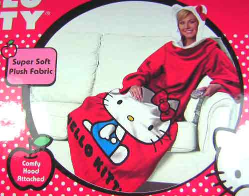 i want a hello kitty snuggie